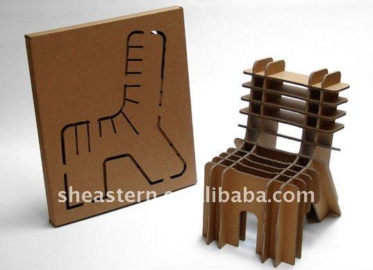 Flexible Cardboard Paper Chair