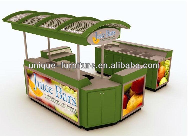 Kiosco jugo en naranja bar de zumos kiosco para la venta for Kioscos bares de madera somos fabricantes