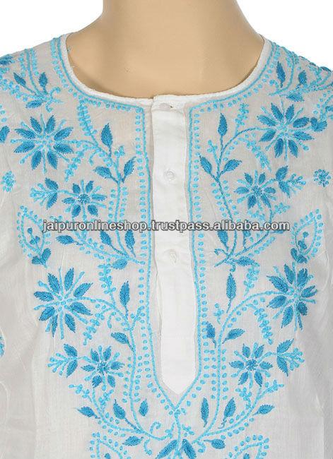 Embroidery kurtas lucknow embroidered kurtis