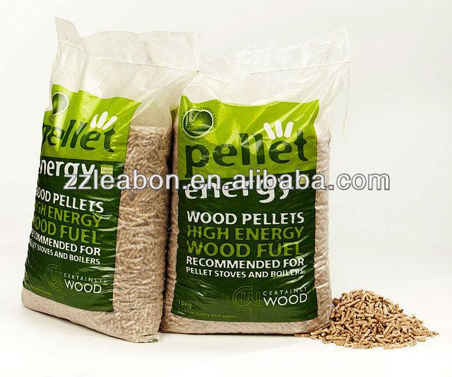 Pellet packaging machine wood bagging packing