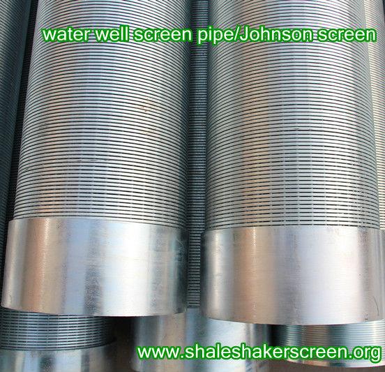 Water Well Screens : Deep water well screen johnson pipe manufacturer