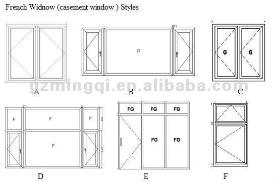 Pvc Standard Double Door Sizes 1800 2100mm Buy Standard Double Door S