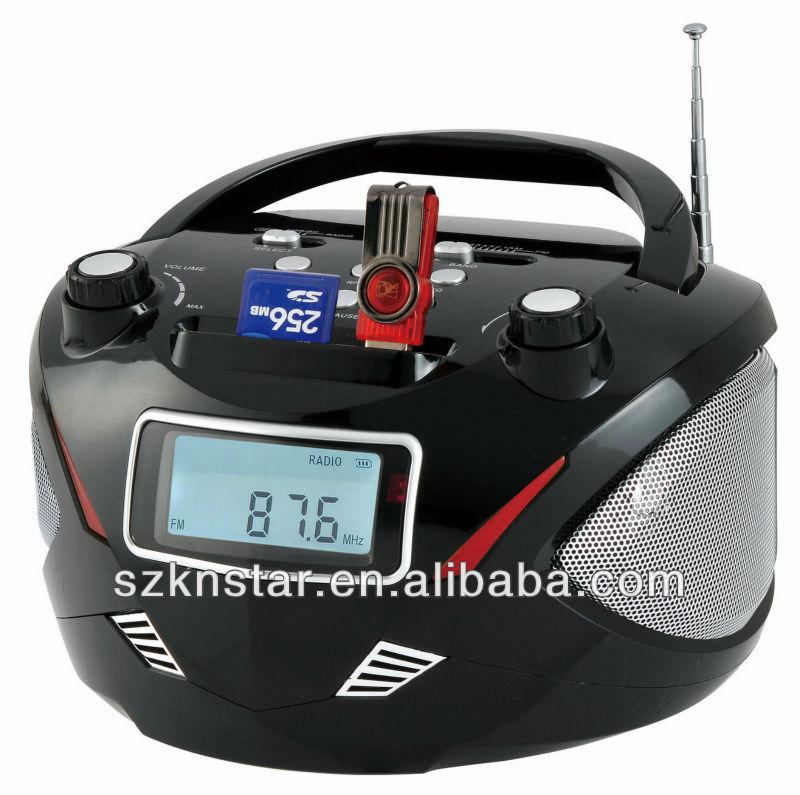 Digital Am/fm Radio Receiver With Remote/mp3 Player
