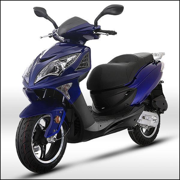 moto scooter falcon