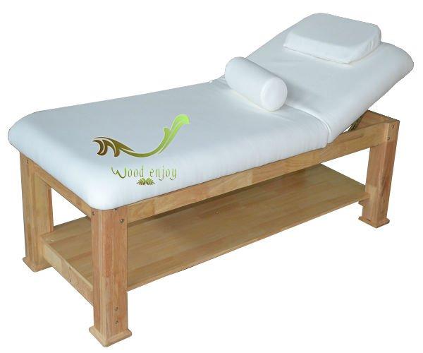 Oak Wood Massage Bed 801 High End Beauty Salon Amp Spa