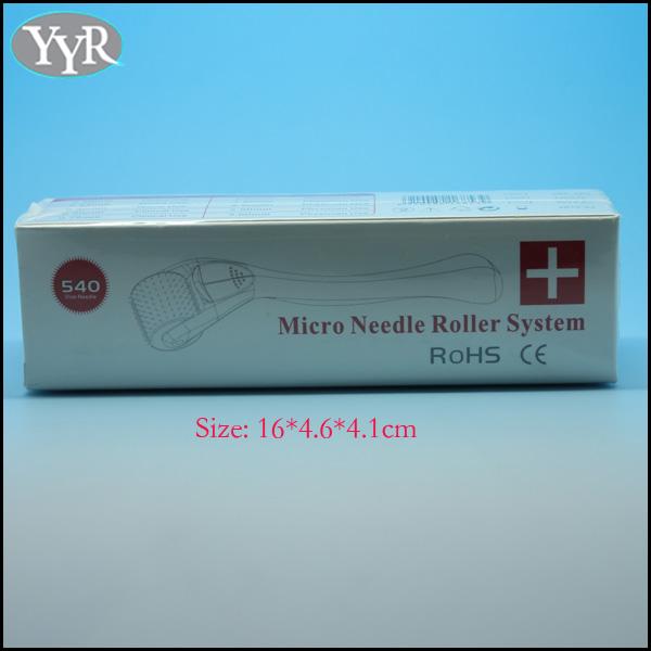 Yyr 5 Colors 540 Needles Micro Needle Derma Roller System