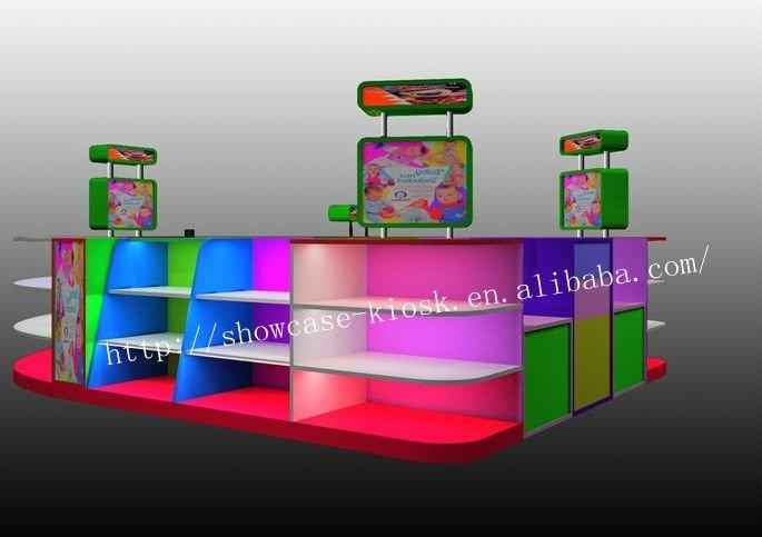 Centro Comercial Kiosco Muebles Para El Bebé Ropa De Diseño,Con ...