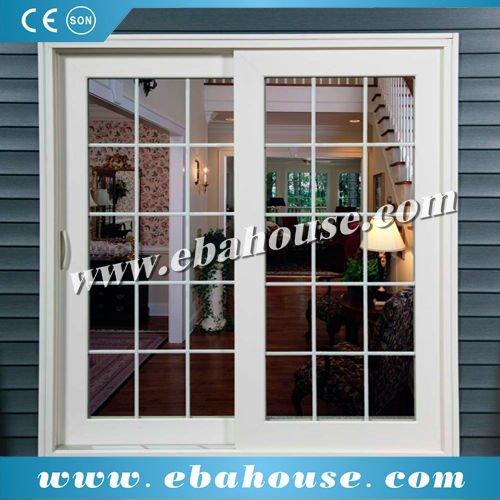 European Style Double Glazing Aluminum Sliding Window