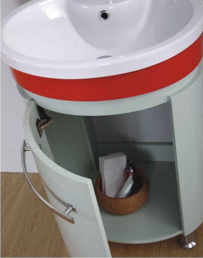 Small Pvc Bathroom Wash Basin Stand Vanity Cabinet Units