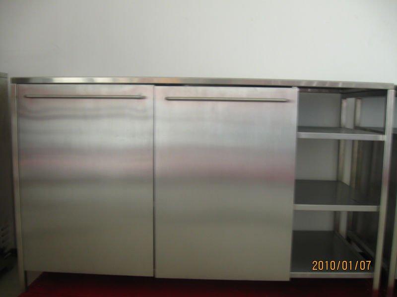 Moderni In Acciaio Inox Da Cucina Mobili/stoviglie In Acciaio ...