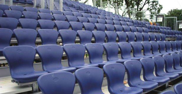 Avant UV Protection Water Proof Public Permanent Stylish Folding Stadium  Chair,stadium Seat