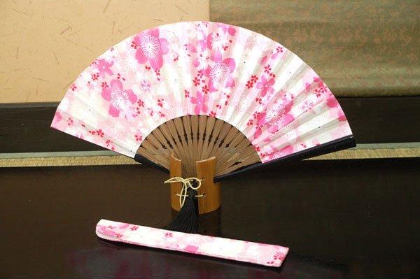 pink fan folding melon Asian