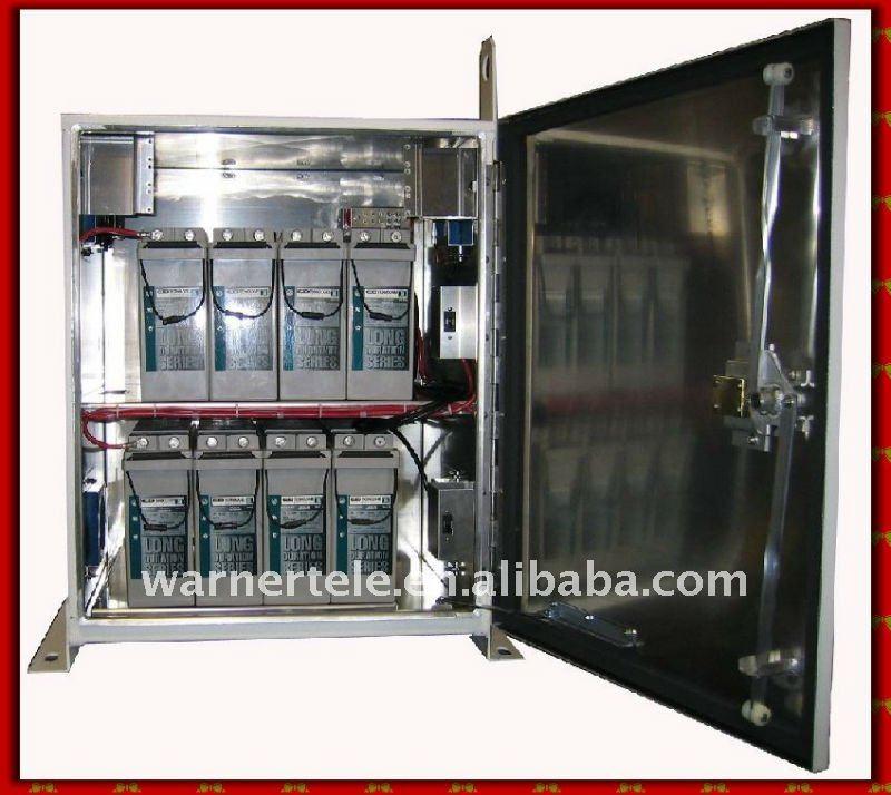 W Tel Indurtsial Telecom Outdoor Msan Ups Battery Cabinet