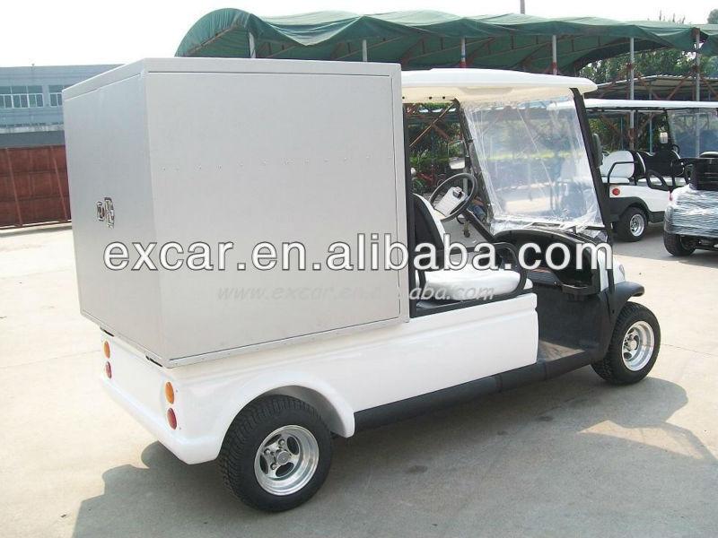 Excar Electric Golf Cart Utility Car Electric Food Cart