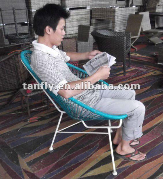 TF-9136 New design Rattan stackable Sun chair