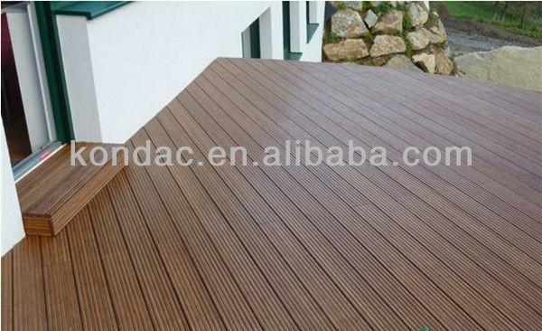 Top Ten Brand Kondac Bamboo Composite Decking Waterproof