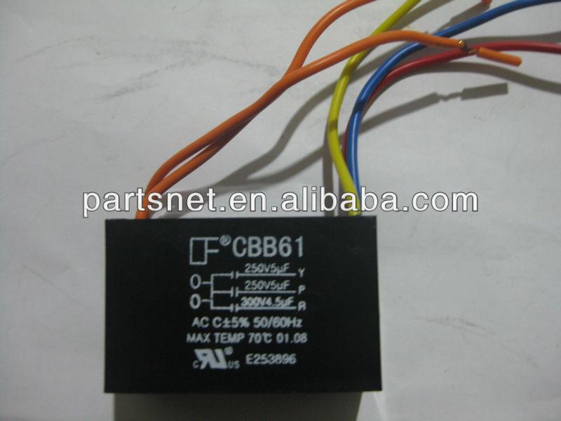 Ac Deckenventilator Kondensator/kondensator Cbb61 Deckenventilator ...