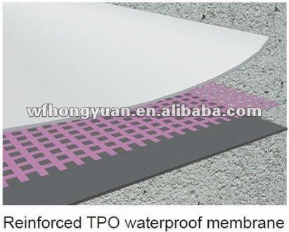 Hongyuan Tpo Waterproof Roofing Membrane Buy Tpo Roofing