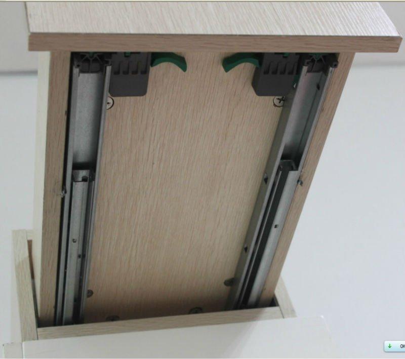 Kitchen Cabinet Undermount Drawer Slides: Kitchen Full Extension Undermount Slide With Locking