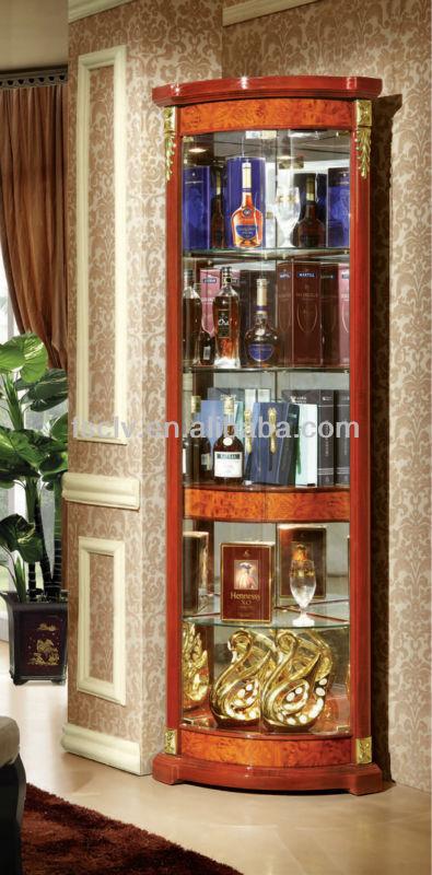 Corner Showcase Design