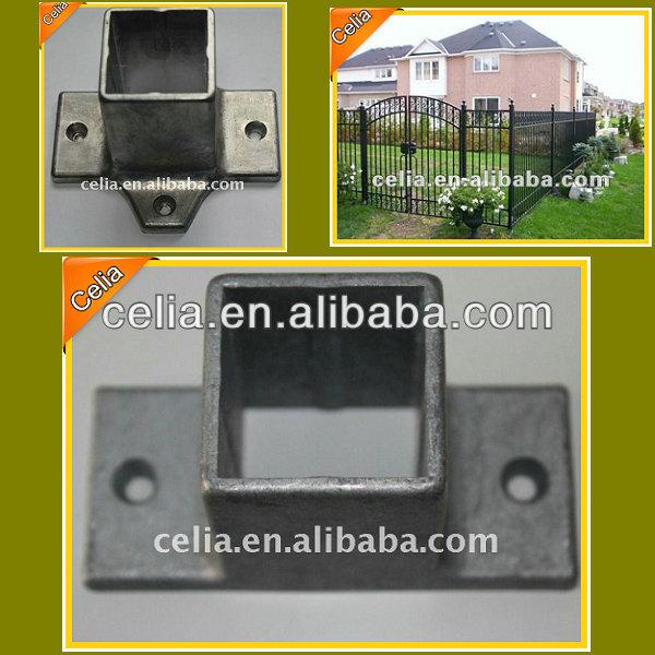 Decorative Metal Fence Post