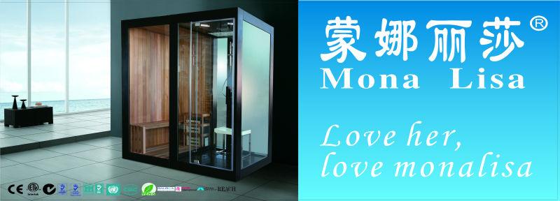 Luxury Bathroom Design Sauna Steam Shower Combination Room/cabin