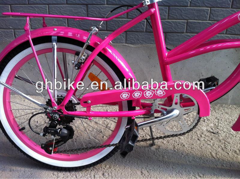20 Inch Pink Kitty Girl Beach Cruiser Bike Buy 14 Inch Girls