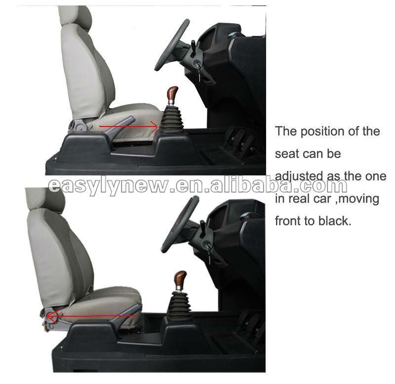 3 Monitors Driving School Simulator
