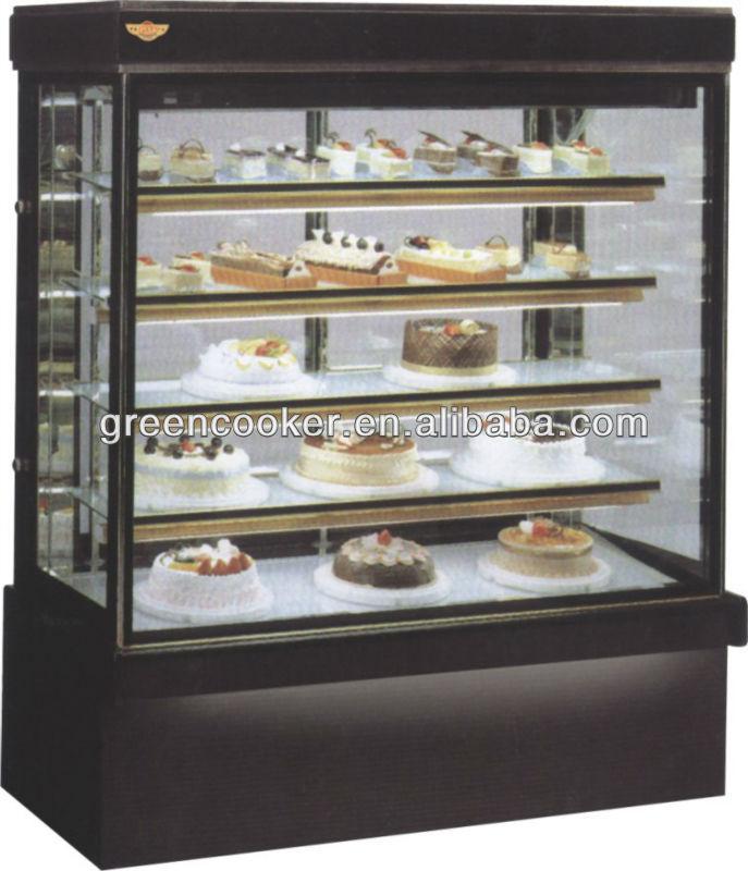 Cake Display Fridge Oem Factorymarble Double Arc Cake