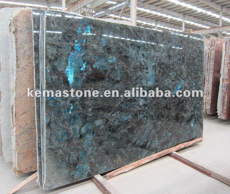 Granite Countertop Slab Size : Labradorite blue river granite slab buy