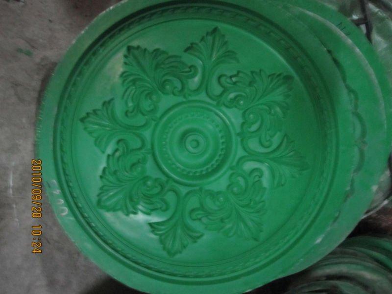 Gypsum Cornice Mould : Decorative plaster cornice mould making for gypsum