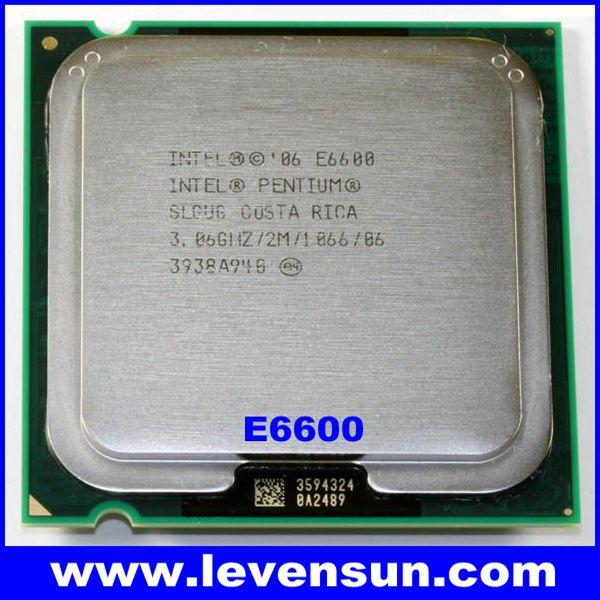 Intel Pentium E6600 vs Core2 Duo E6600