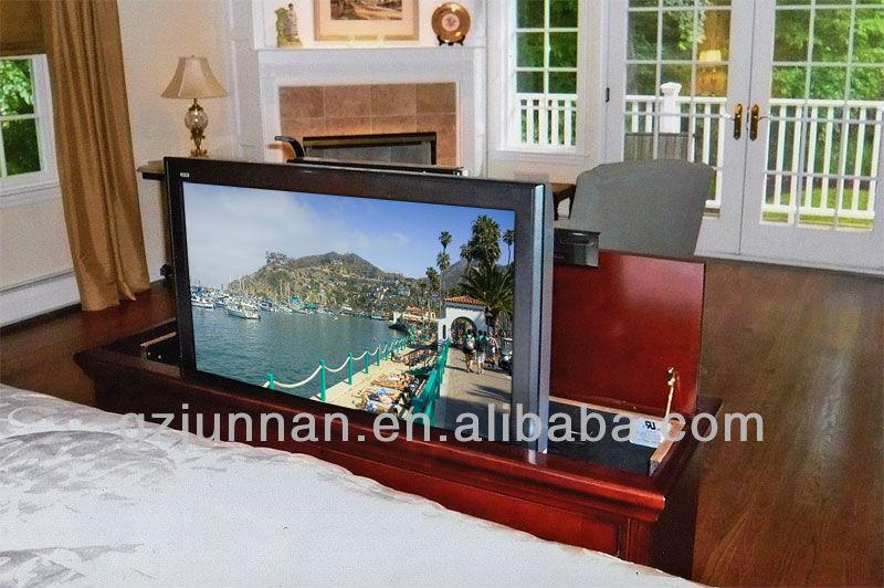 Designed For Bed Furniture 360 Degrees Swivel Hidden Table Tv Lift