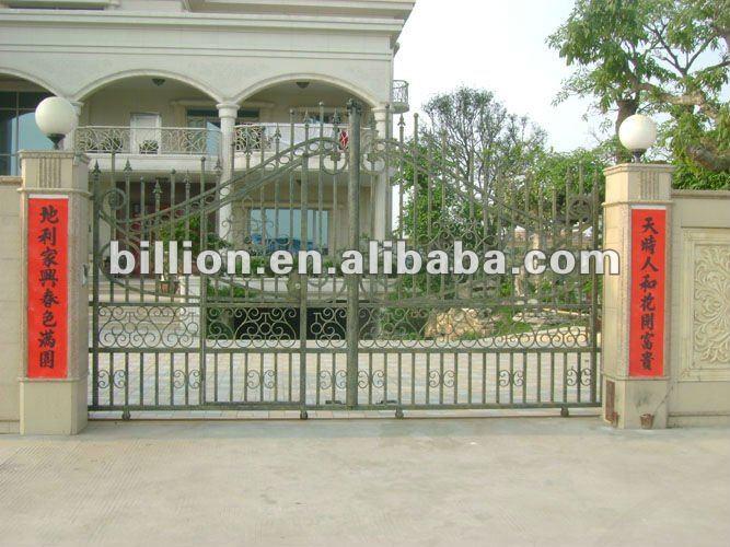 Iron Pipe Front Main Gate Designs Design For Sale