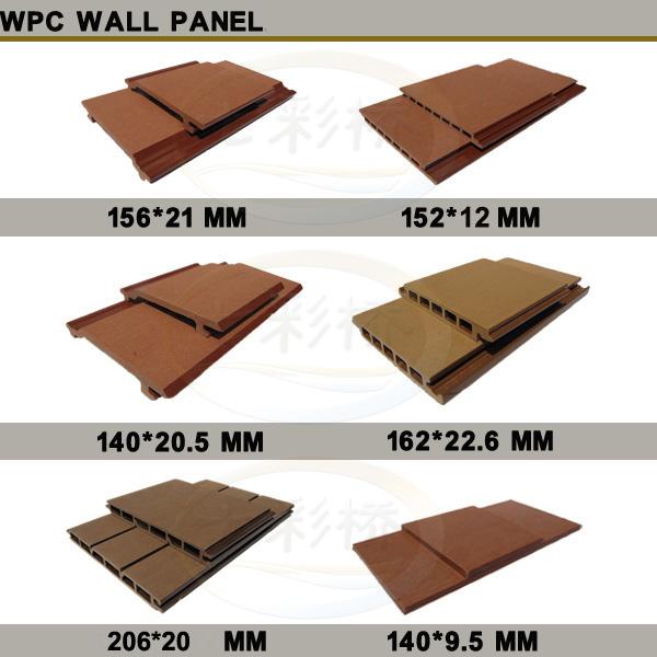 Wood Plastic Composite Exterior Wall Siding Panel