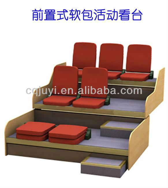 retractable grandstand tribune seats for multi function. Black Bedroom Furniture Sets. Home Design Ideas