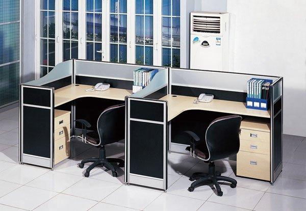 office desk cubicle. Two Module Office Cubicle Workstation, Desk S