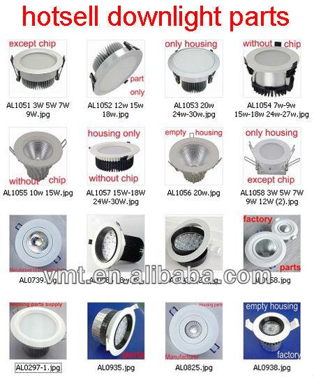 Vmt China Manufacturer Led Light Parts Led Downlight Housing Die ...