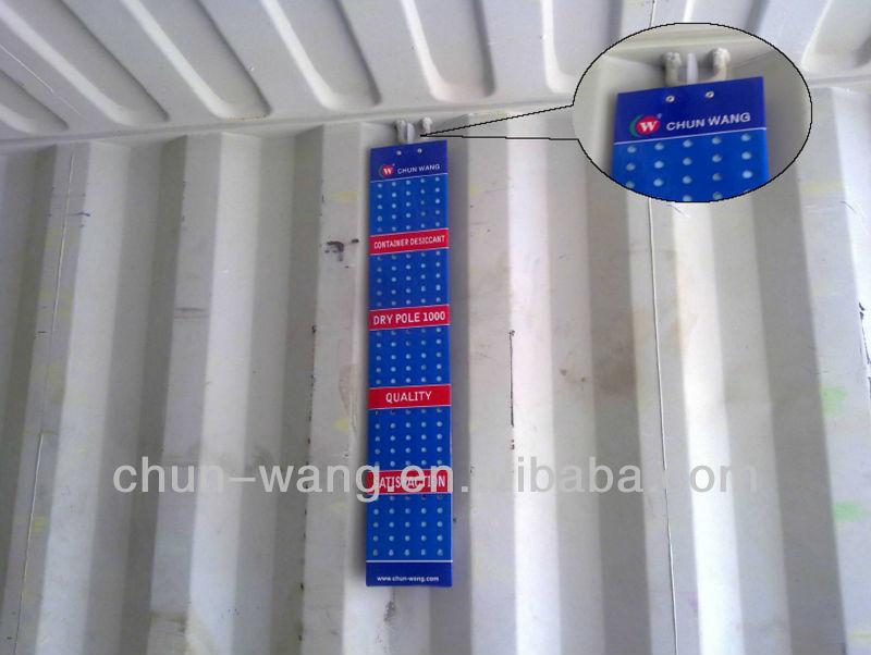 Suspensibility Container Trockenmittel, Frachtschiff Dry Pole, billige Luftfeuchtigkeit Absorptionsmittel zum Verkauf