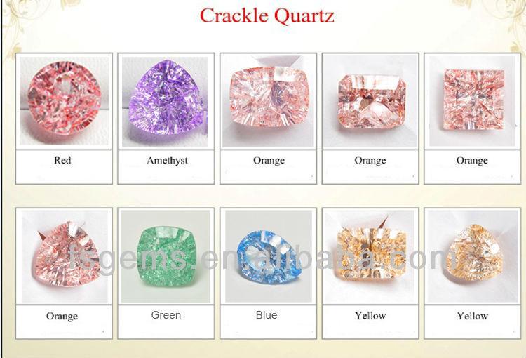 wholesale multi color crackle quartz tumbled beads buy