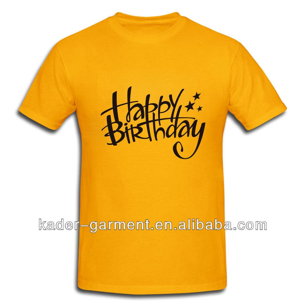 Happy Birthday T Shirt Custom Design