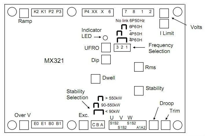 avr mx321-avr automatic voltage regulator - buy mx321,avr mx321, Wiring diagram
