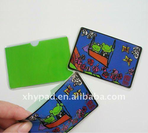 Clear Soft Pvc Plastic Metro Card Holders Wholesale