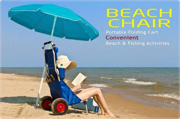 Folding Chair Carts Fishing Beach Trolley Beach Cart Buy