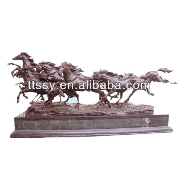 Bronze Figurines For Sale eight running horses large bronze statue for sale - buy large bronze