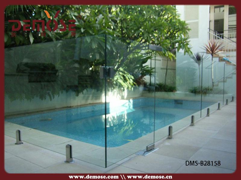 retr til piscina fence esgrima piscina de vidro temperado