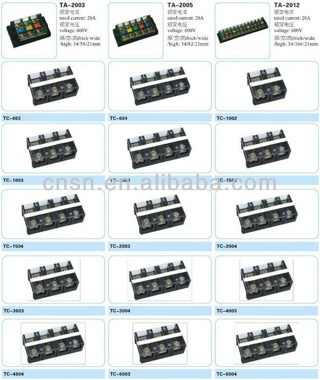 Tb 100a 3p 4p 6p 12p Screw Connectors Amp Terminals Block