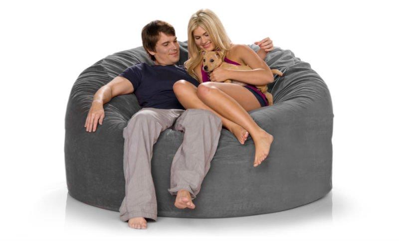 Foam-filled microsuede giant bean bags sofa bed - Foam-filled Microsuede Giant Bean Bags Sofa Bed - Buy Bean Bag
