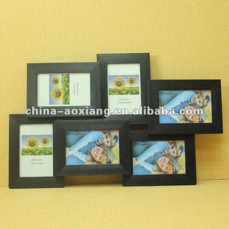 China Fabricante Moda Collage 8 Apertura Hanndmade Negro Claro ...