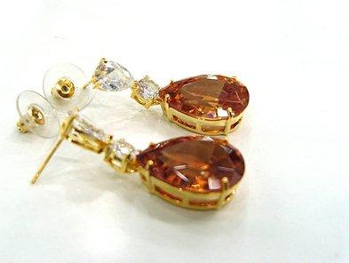 Arabic Women Jewelry Wedding Earring 18k Gold Jewelry